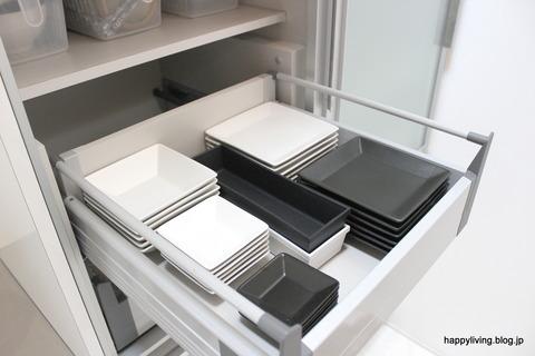 キッチン カップボード 食器棚 収納 (4)