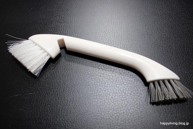 ホワイトインテリア ツインブラシ 掃除 100均 ワッツ (3)