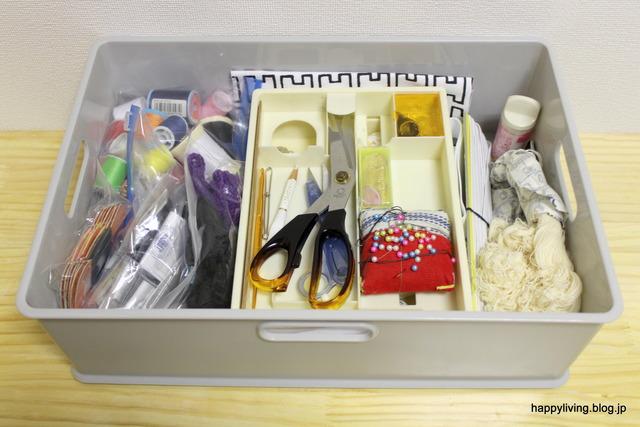 裁縫道具 収納 インボックス 耐震ジェル 収納アイデア (5)