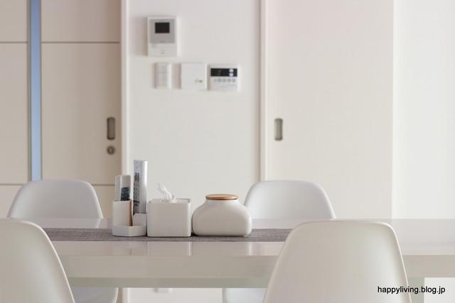 ウエットティッシュケース ideaco 陶器 ホワイトインテリア (2)