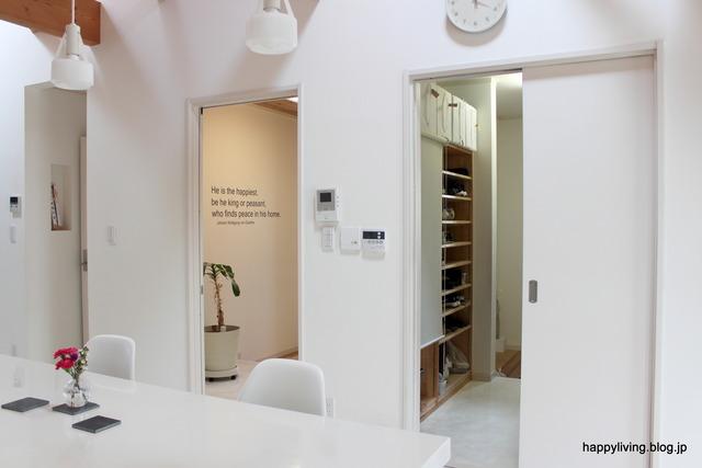 室内ドア 建具 交換 ホワイトインテリア 玄関 (1)