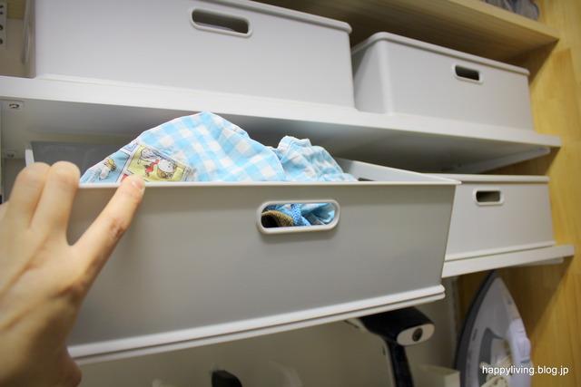 ウォークインクローゼット 収納 インボックス カラーボックス (8)