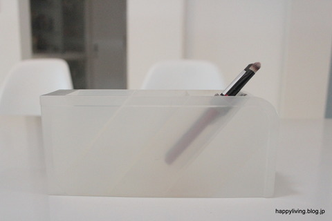化粧品 収納アイディア 無印良品 ペンホルダー  (7)