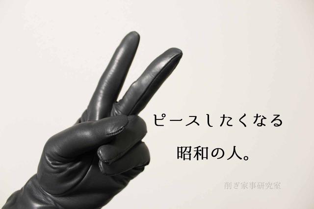 革手袋 グローブホルダー 冬小物 (1)