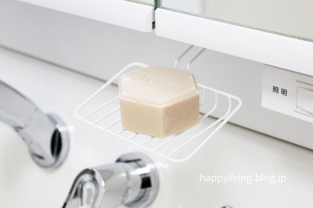 吸盤 ワイヤーソープディッシュ 100均アイデア 収納 掃除(10)