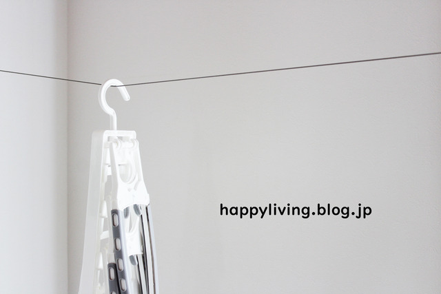 カインズ ワンタッチ7連ハンガー 洗濯 トップス パーカー (4)