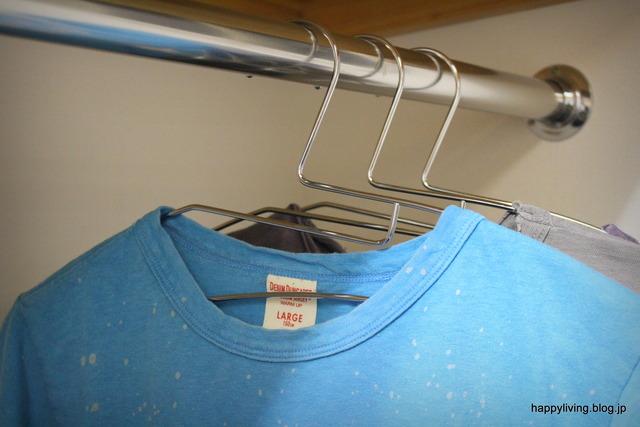 TAYA タヤTシャツ用ハンガー 滑る 首伸びない (2)
