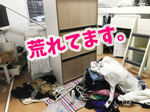 壁紙 DIY クローゼット 女の子 子供部屋 (8)