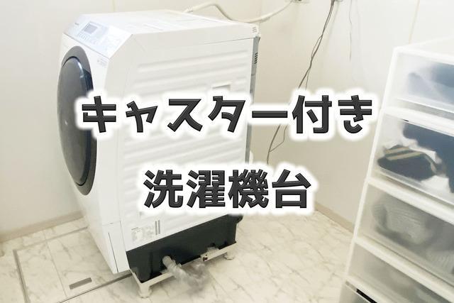 洗濯機下掃除3