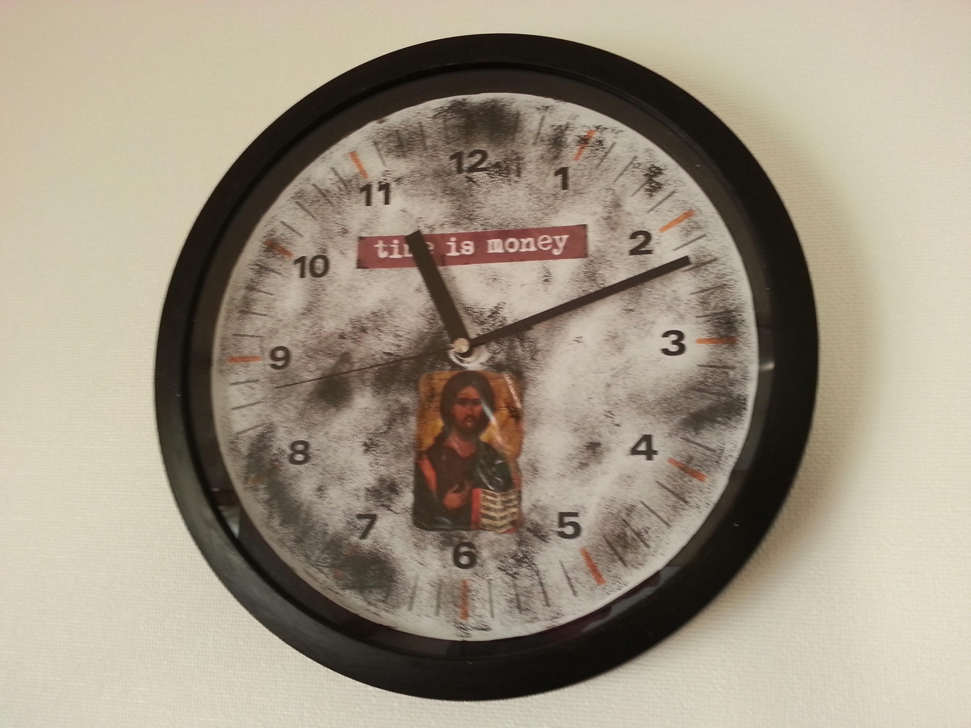 子供部屋 男の子 時計 リメイク ステッカー