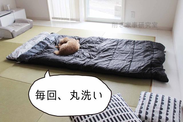客用布団 寝袋 収納 納戸 ねぶくろん (2)
