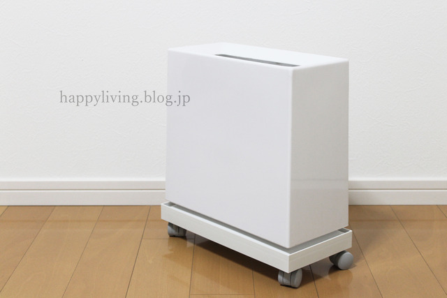 ideaco 無印 キャスター フタ ファイルボックス  ゴミ箱 (10)
