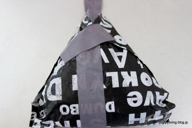 アルミホイル マスキングテープ パリパリ海苔 おにぎり (7)