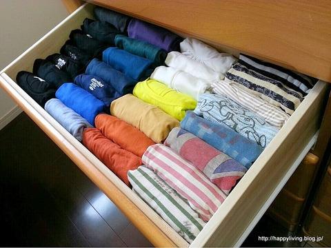 収納 Tシャツ