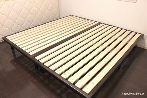 掃除がラク すのこベッド