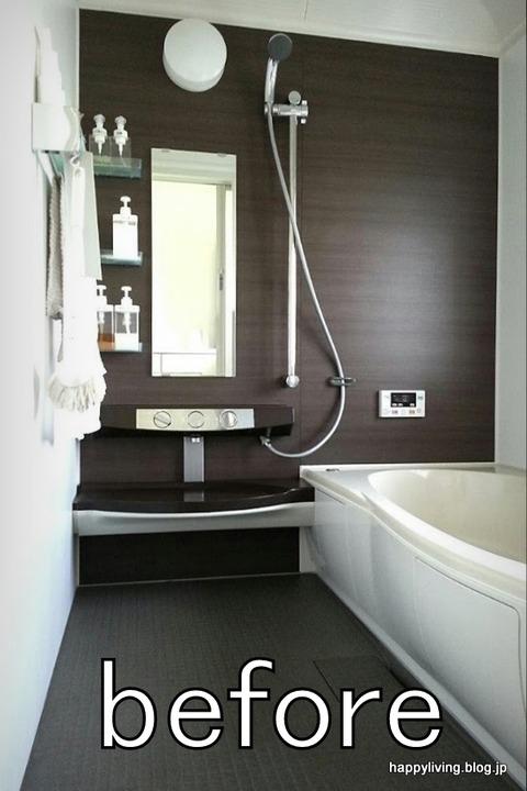 お風呂 浴室 鏡 外す 掃除 (4)