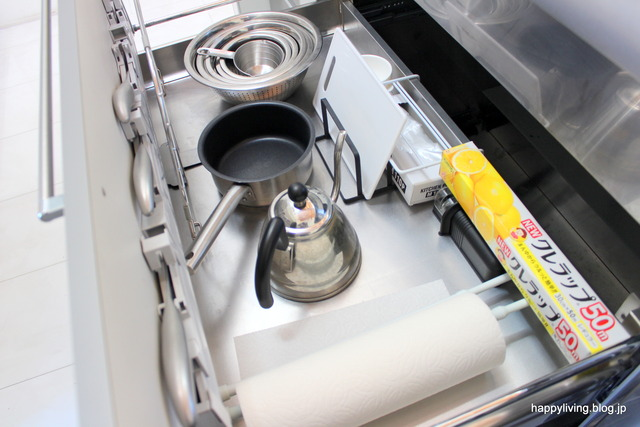 キッチン収納 片付け方法 シンク コンロ下 アイデア (24)