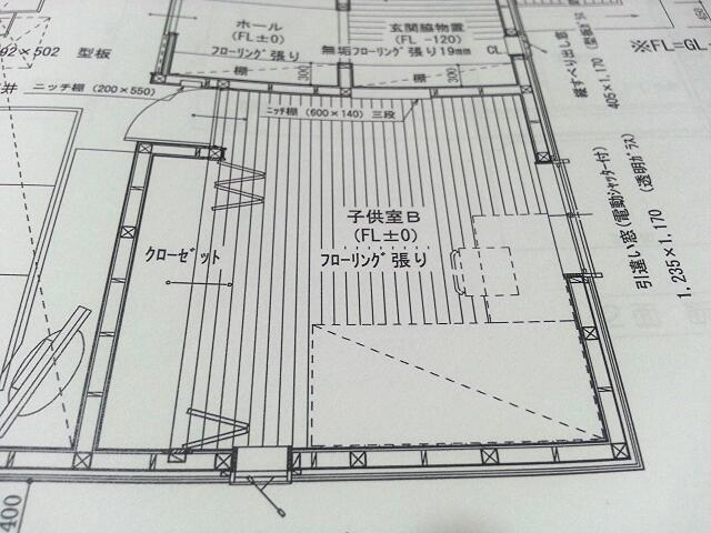 子供部屋 平面図