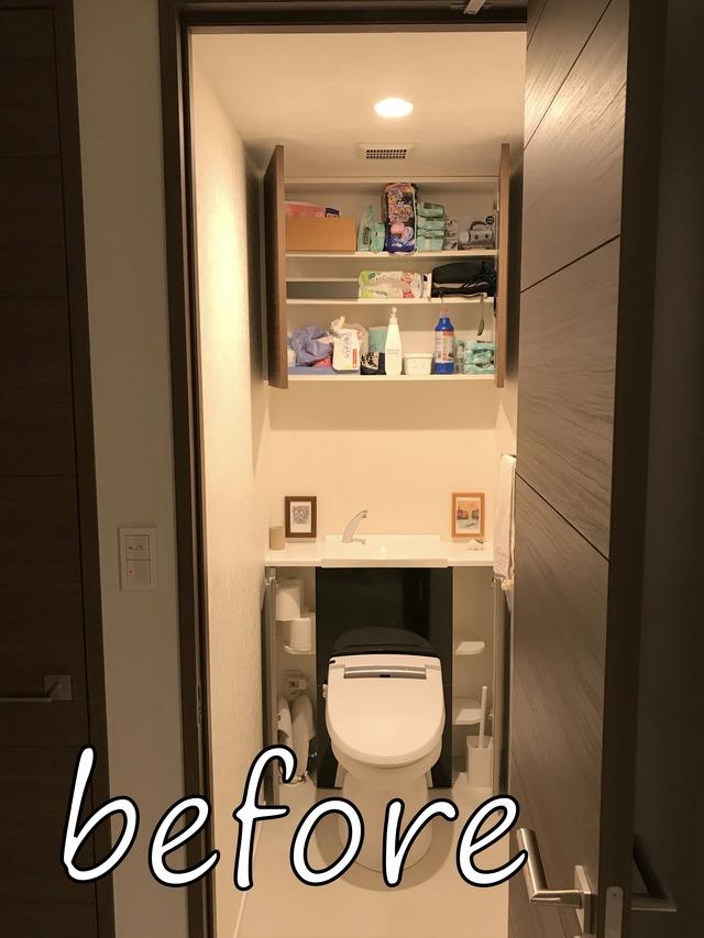 トイレ収納 吊戸棚 スキット カインズ