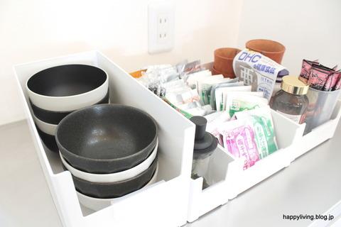 カインズ スキット カップボード収納 ケース 食器棚 (4)