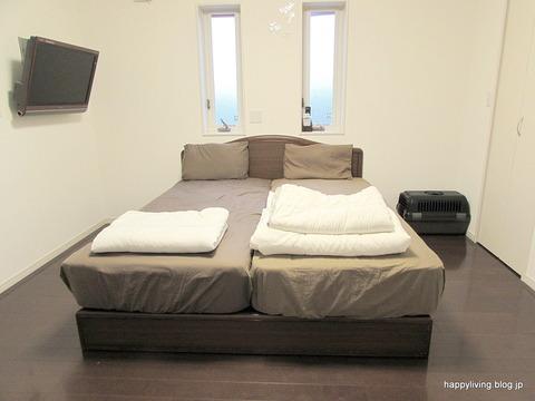 寝室 シンプル