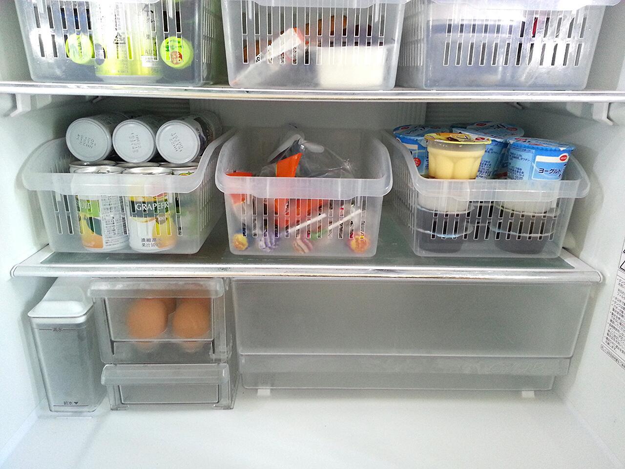 冷蔵庫 缶ジュース 収納
