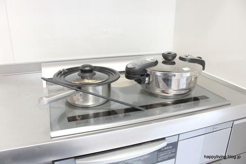 ステンレス 鍋 キッチン シンプル