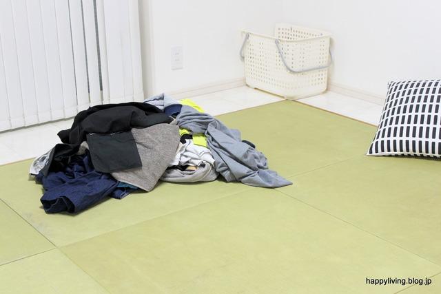 ラク家事 洗濯物 畳まない 収納 洋服 パジャマ (1)