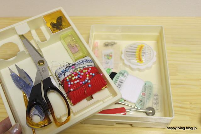 裁縫道具 収納 インボックス 耐震ジェル 収納アイデア (1)