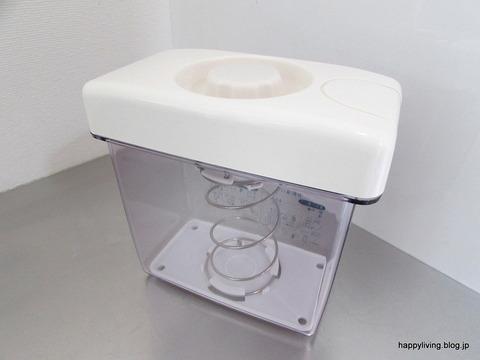 漬物容器 白 コンパクト