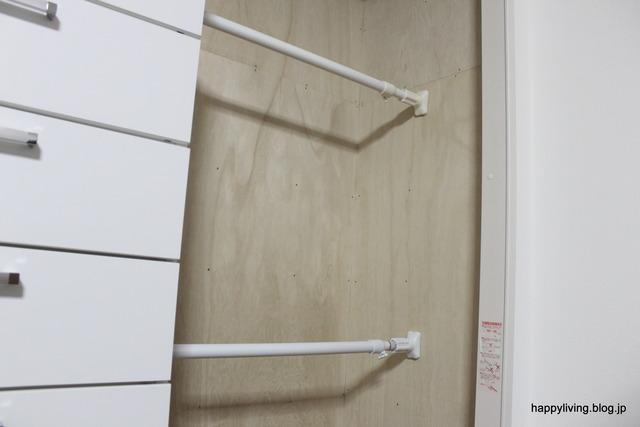 子供部屋 クローゼット 掛ける収納 洋服 (5)
