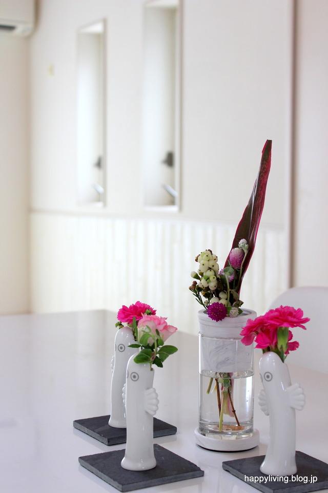 sarasa フラワーベース インテリア 花瓶 一輪挿し セメント (6)