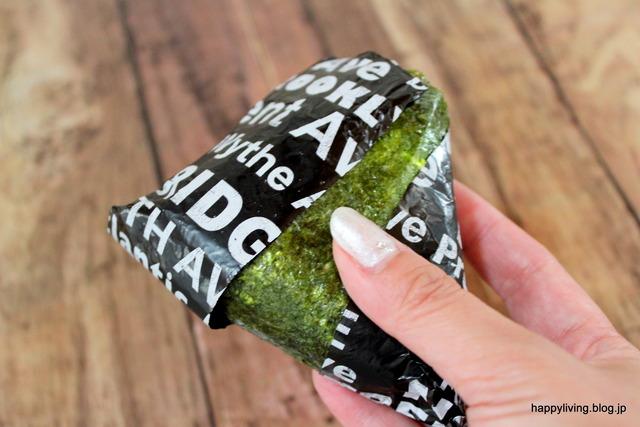 アルミホイル マスキングテープ パリパリ海苔 おにぎり (12)