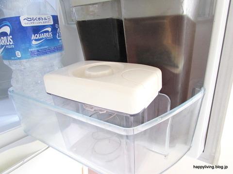 白 収納 冷蔵庫の中 漬物容器 コンパクト ドアポケット