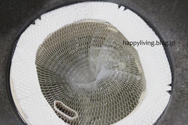 お風呂 排水口 掃除ラク ネット 髪の毛 ダイソー (10)