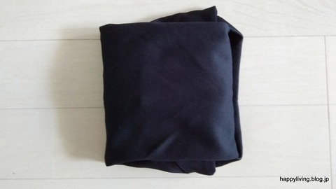 ポロシャツ コンパクトに畳む (8)