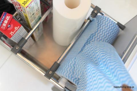 キッチン収納 アイディア ニトリ 使い捨て台ふきん (1)