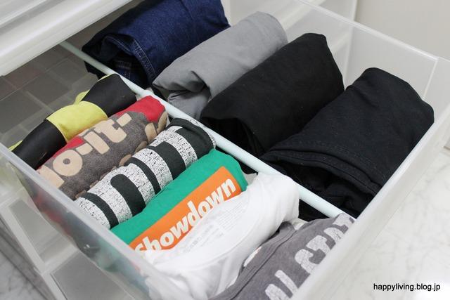 ラク家事 洋服収納 明日の服 パジャマ 脱衣所 (5)