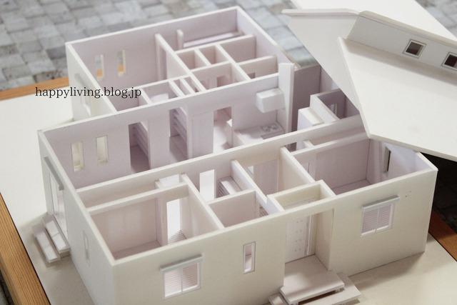 平屋 家づくり 模型 間取り