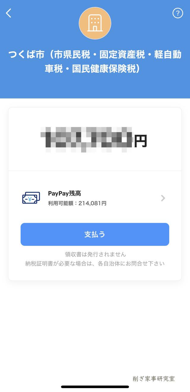 税金 PayPay2