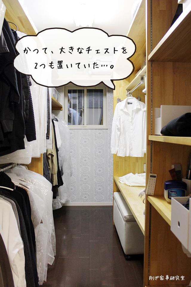 洗濯物 畳まない 片付け クローゼット (4)
