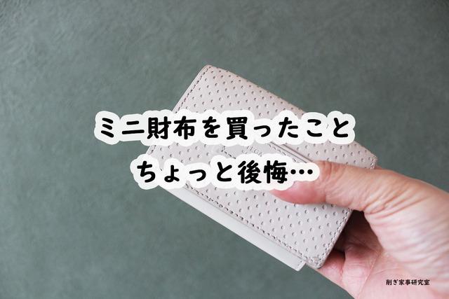 ミニ財布 デメリット スマホケース キャッシュレス (2)