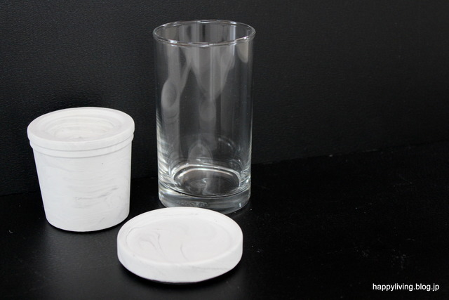 sarasa フラワーベース インテリア 花瓶 一輪挿し セメント (1)