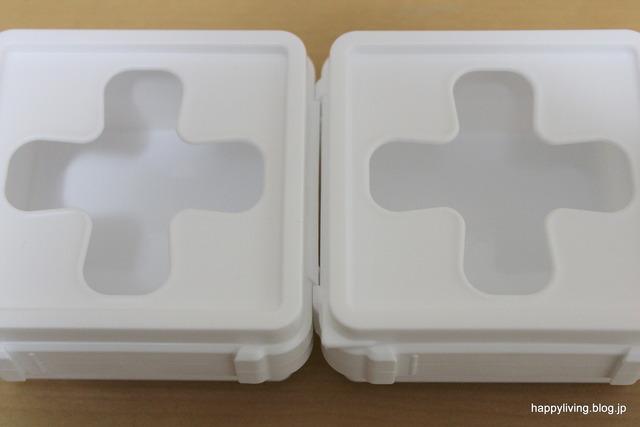 セリア 開け閉めいらずBOX ミニ 洗面台収納 ヘアゴム (8)
