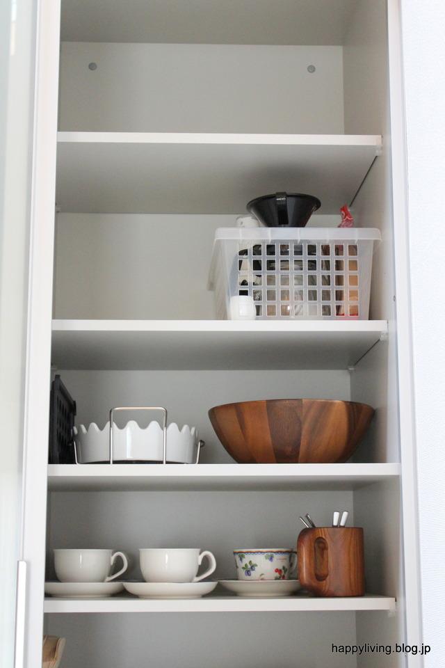 キッチン カップボード収納 無印 カインズ ファイルボックス (3)