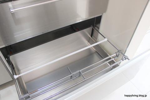 キッチン収納 つっぱり棒 円柱 仕切り ダイソー (7)