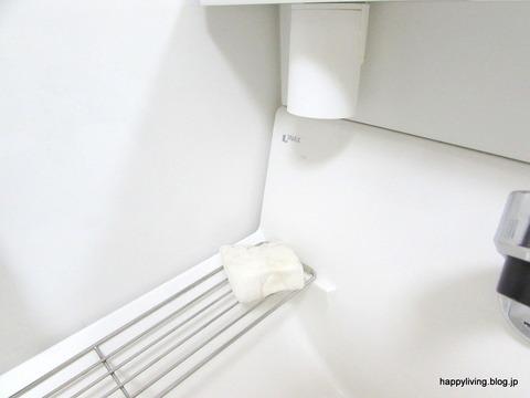 洗面台 メラミンスポンジ 掃除