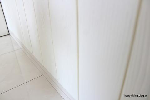 山善 クッションパネル 壁紙貼り替え (8)