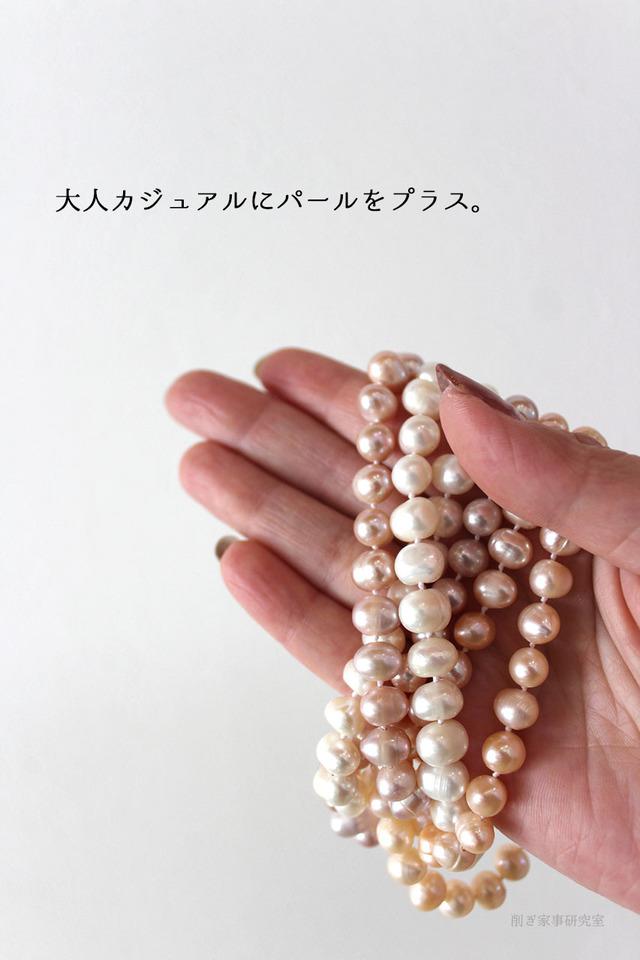 40代 ママファッション 大人 卒業 入学 パール arc. (2)