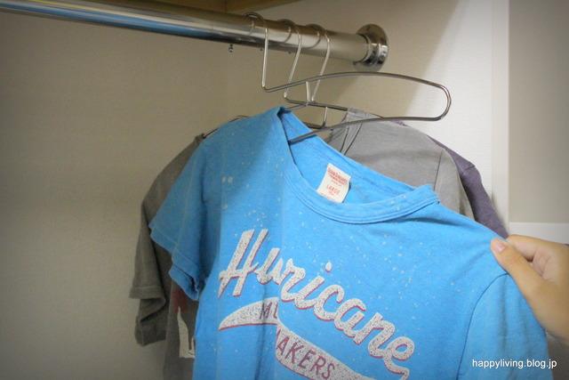 TAYA タヤTシャツ用ハンガー 滑る 首伸びない (5)